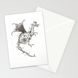 Garden Dragon Stationery Cards