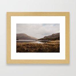 Golden Irish Landscape Framed Art Print