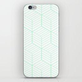 ZADA ((seafoam green)) iPhone Skin