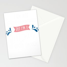 I Am Not Superwoman But I'm A Mom Stationery Cards
