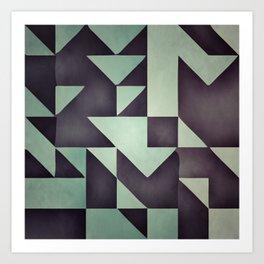 :: geometric maze VIII :: Art Print