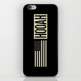 Hooah (Black Flag) iPhone Skin