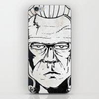 frankenstein iPhone & iPod Skins featuring Frankenstein by Diseños Fofo