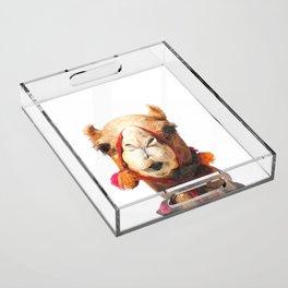 Camel Portrait Acrylic Tray