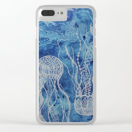 Traffic Jam Clear iPhone Case