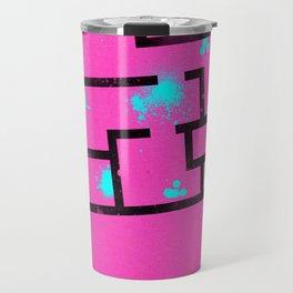 Hotline Miami - Minimalist Design Travel Mug