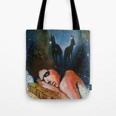 Into The Dark Tote Bag
