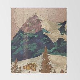 Switzerland Eiger Throw Blanket