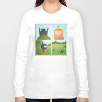 princess Long Sleeve T-shirts featuring princess by Sucoco