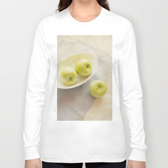 Painterly Apples Long Sleeve T-shirt