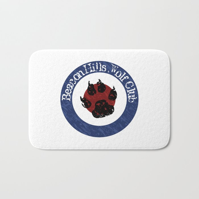Wolf Badge Bath Mat