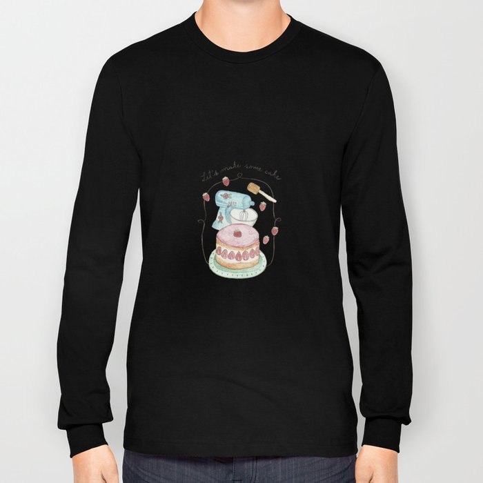 Let´s make some cake Long Sleeve T-shirt