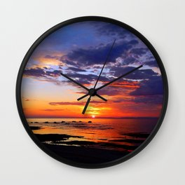 Between Sky and Earth Wall Clock