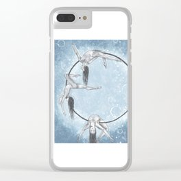 Leap, Yield, And Feel Clear iPhone Case