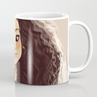 sister Mugs featuring Sister by cennet kapkac