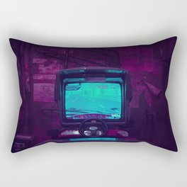 Tokyo Nights / Retro Arcade / Liam Wong Rectangular Pillow
