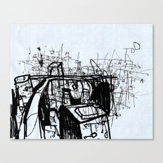 City Study Canvas Print