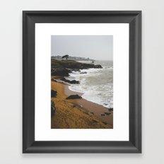 The beautiful storm Framed Art Print