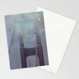 Starry San Francisco Stationery Cards