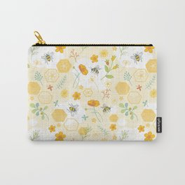 Honey Bees and Buttercups Carry-All Pouch