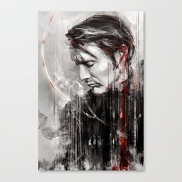MM speed painting Canvas Print