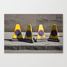 Stop unless I say so! Canvas Print