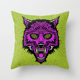 Beer Hound Throw Pillow