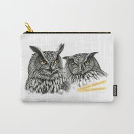 Two OWLs  G2010-11 Carry-All Pouch