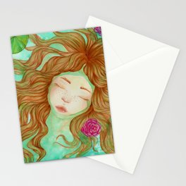 Sometimes it's Hard to Tell the Water From My Tears Stationery Cards