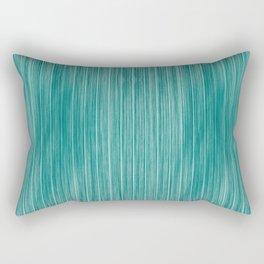 Tiffany Aqua Weathered Whitewash Wooden Beach House Rectangular Pillow