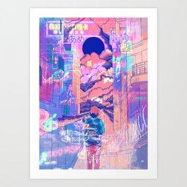 Osaka Bogotá Art Print