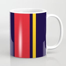 Navy Racer Coffee Mug