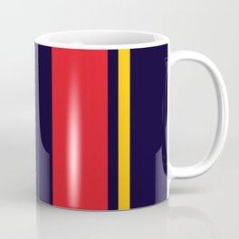 Navy Racer Coffee Mug