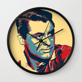 Cary Grant Poster Art Wall Clock