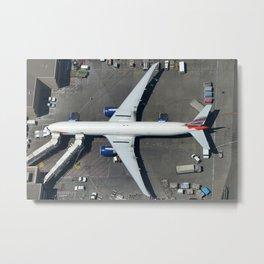 British Airways at the gate Metal Print