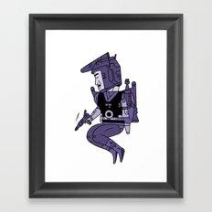 Buck Rogers version 2 Framed Art Print