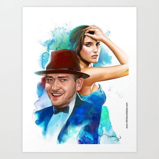 Promiscuous Art Print
