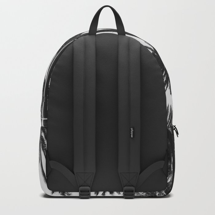Los Angeles Black and White Backpack