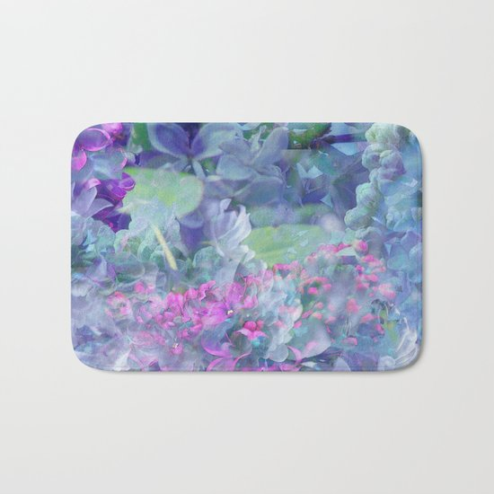 Lilac Bloom Bath Mat
