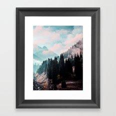 The Juxtaposed Creation #society6 #decor #buyart Framed Art Print