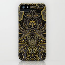 Paisley 3 iPhone Case