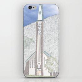 Church in Val di Fassa iPhone Skin