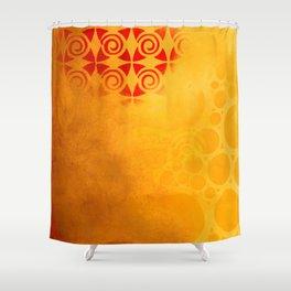 Pattern in a sandstorm Shower Curtain