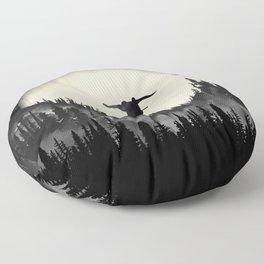 Moon Trick Floor Pillow