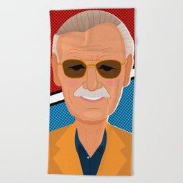 Stan Lee Beach Towel