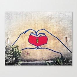 Love (edited) Canvas Print