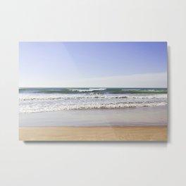 Sea and Sand and Sky     Metal Print