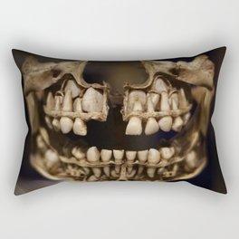 Deformed Human Teeth Rectangular Pillow
