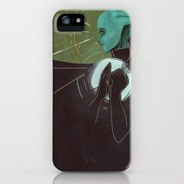 Liara T'Soni Companion Card iPhone Case