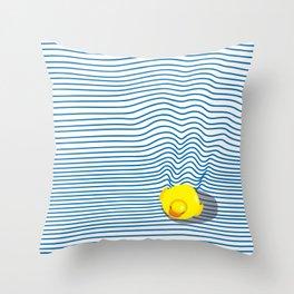 Rubber Ducky Throw Pillow